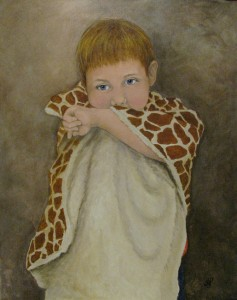 Portrait of Jack by Canadian Sports Portrait Artist Tanya Petruk