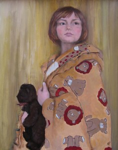 Portrait of Kacey by Canadian Sports Portrait artist Tanya Petruk