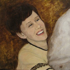 Portrait of Noella by Canadian Sports Portrait Artist Tanya Petruk