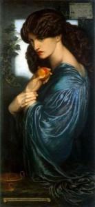 Proserpine by Rossetti